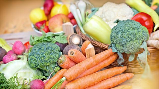 Frutas y verduras de temporada verano