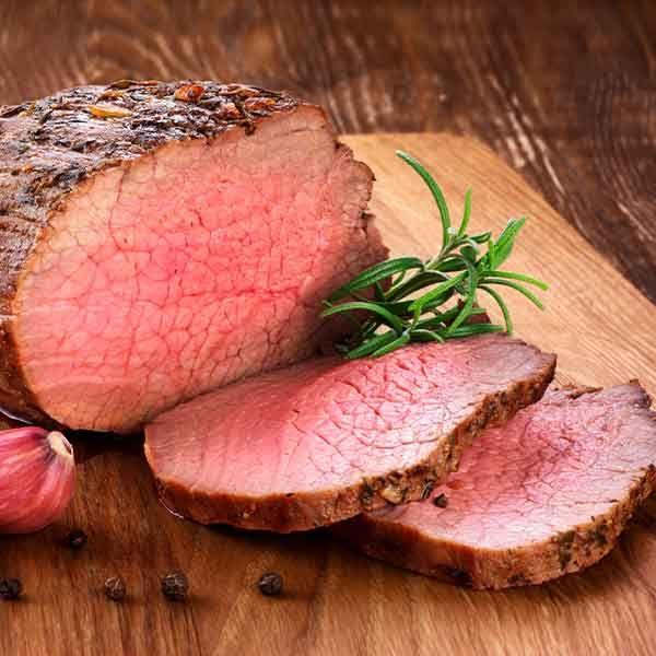 carne ecológica Roast beef